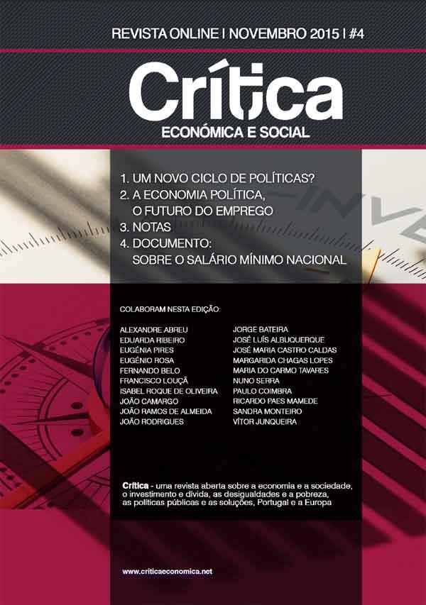 Crítica Económica e Social #4